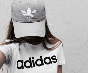 adidas, white, and tumblr image