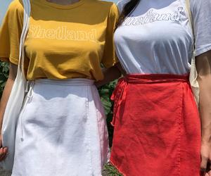 dress, girls, and kfashion image