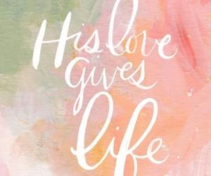 love, life, and god image