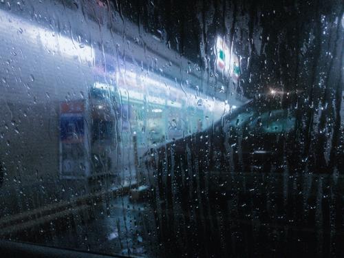 rain, grunge, and alternative image