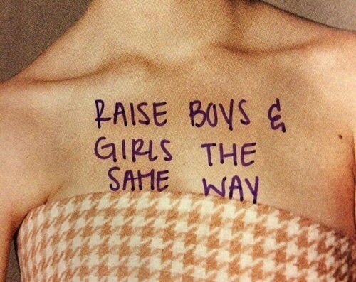 boy, equality, and aesthetic image