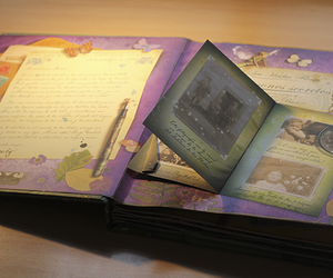 book, photo, and fairy image