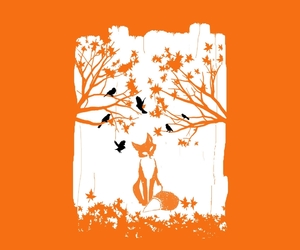 animals, threadless, and foxes image