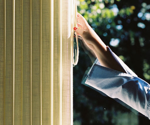 35mm, curtain, and fall image