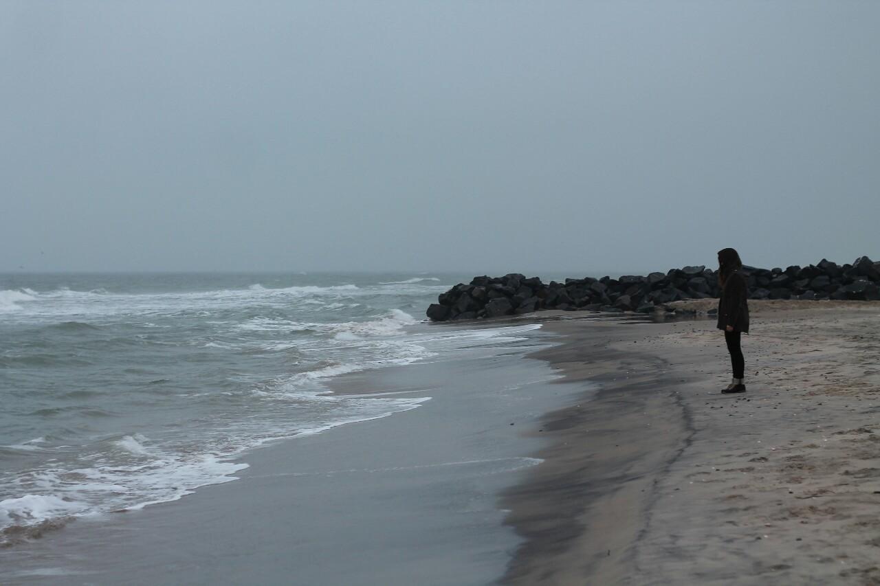 grunge, sea, and beach image