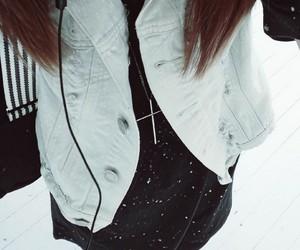alternative, fashion, and denim vest image
