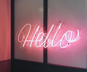 aesthetic, glow, and sign image