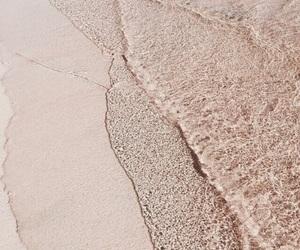 beach, sand, and theme image