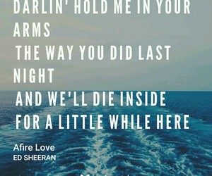 ed, sheeran, and love image