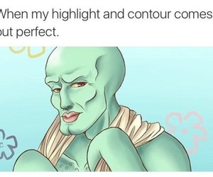 funny, lol, and contour image