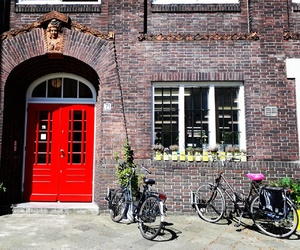 bicycle, europe, and holland image