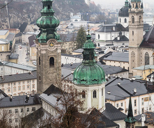 austria, rain, and salzburg image