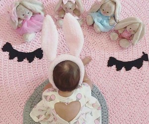 baby, love, and bunny image