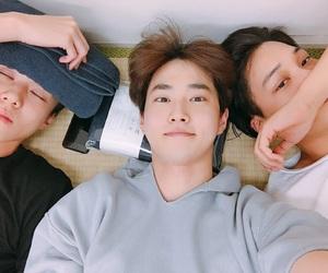 exo, kai, and suho image