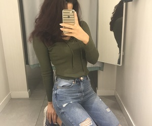 fashion, ideas, and jeans image