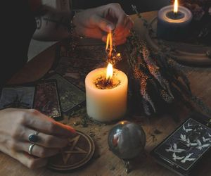 witch, candle, and article image