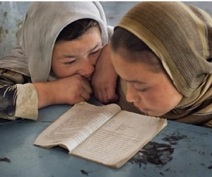 afghan, girls, and knowledge image