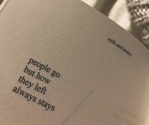 quote, text, and milk and honey image