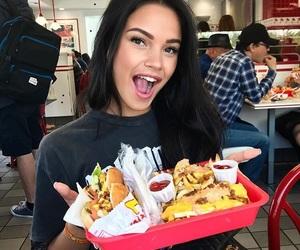 girl and food image