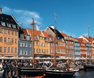 cities, copenhagen, and denmark image