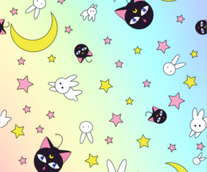 sailor moon, wallpaper, and moon image