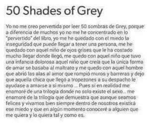 books, libros, and fifty shades of grey image