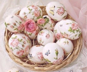 easter, cute, and roses image