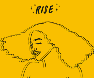 yellow, aesthetic, and rise image