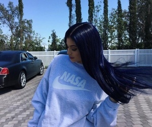kylie jenner, kylie, and hair image