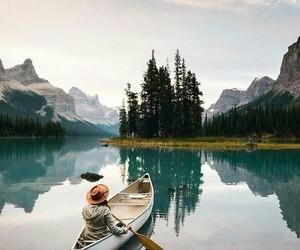 nature, lake, and photography image