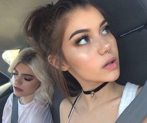 girl, sahar luna, and makeup image