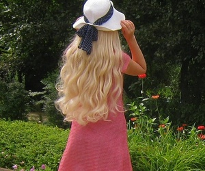 barbie, blonde, and cut image