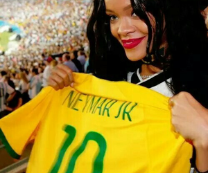 rihanna and neymar image