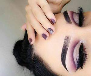 amazing, nails, and cut crease image