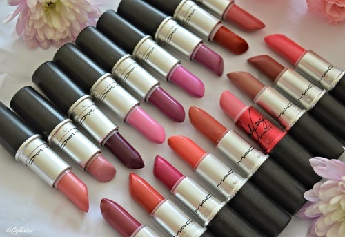 lipstick, colours, and mac image