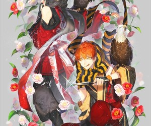 707, mystic messenger, and unknown image