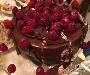 delicious, food, and raspberries image