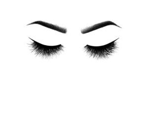 eyes, wallpaper, and eyelashes image