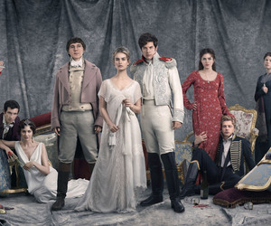 war and peace, lily james, and james norton image