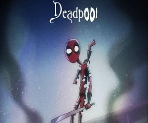 deadpool, tim burton, and Marvel image
