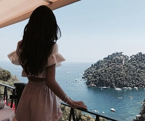 girl, beauty, and places image