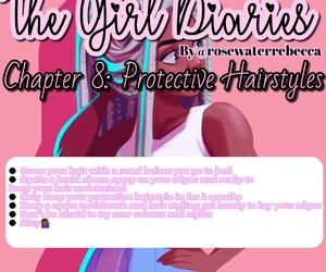 black girl, girl, and girly image