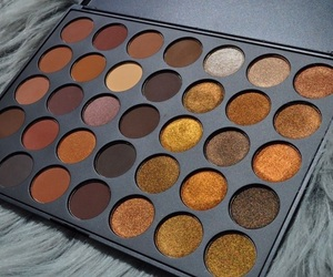 makeup, autumn, and eyeshadow image