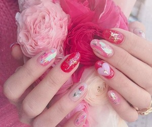 pink, pale, and beauty image