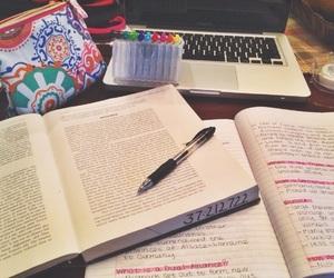 study, book, and hard image