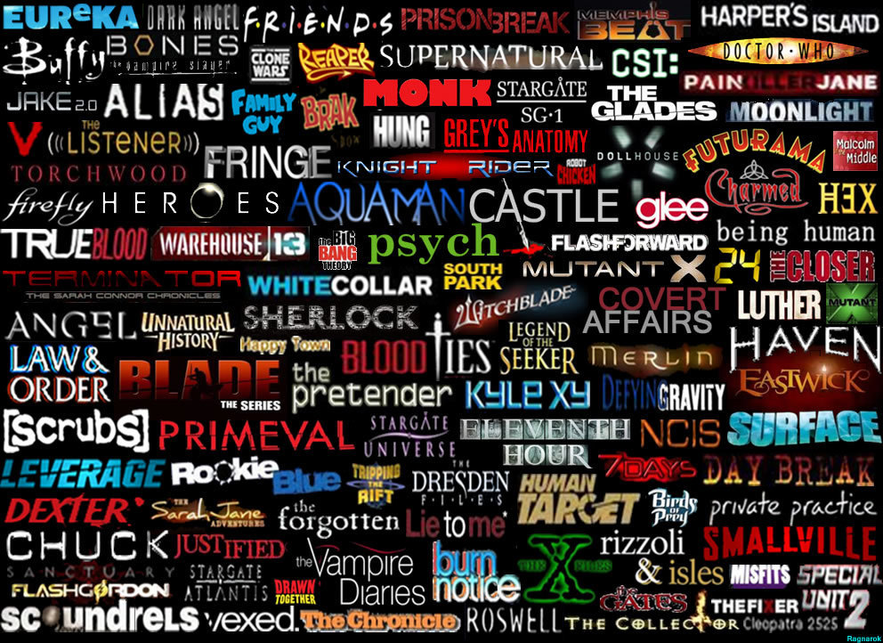 series, glee, and castle image