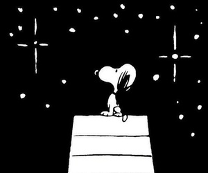 snoopy and stars image
