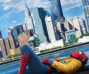 Marvel, spiderman, and homecoming image