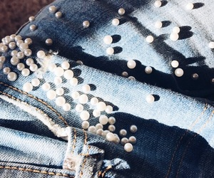 demin, jeans, and pearls image