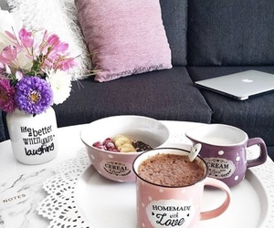 coffee, decoration, and food image